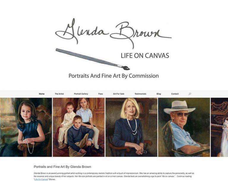 Glenda Brown Portriats - Arlington-TN Completed