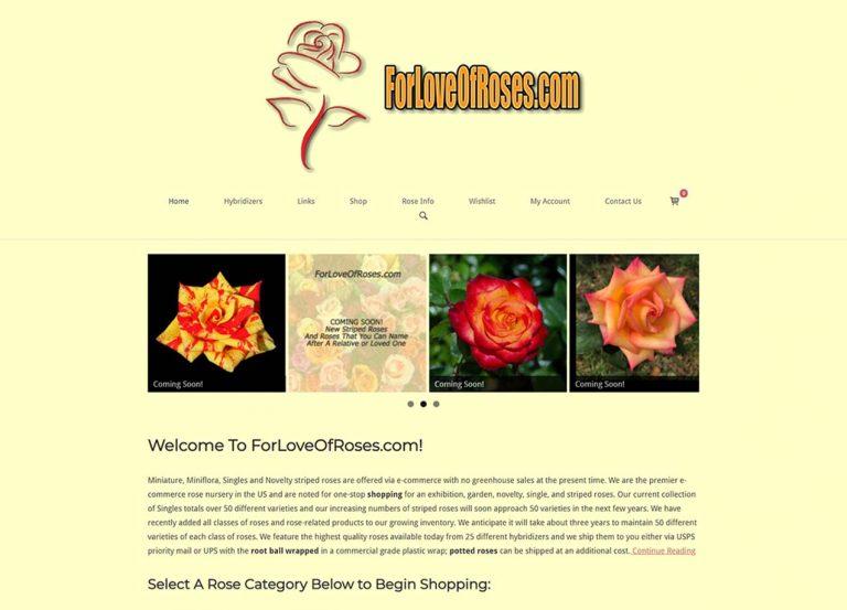 For Love of Roses - Brighton TN