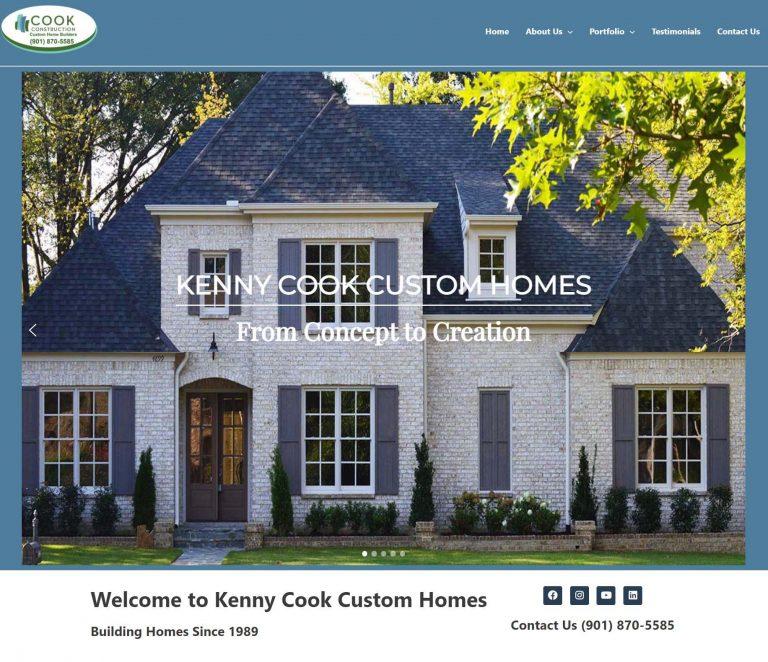 Kenny cook custom homes
