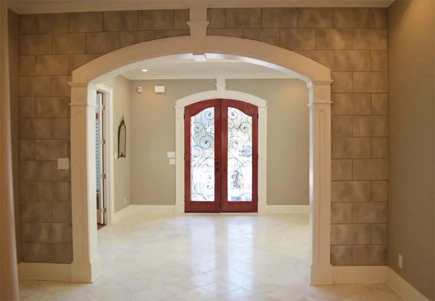 Kenny Cook Custom Homes - Home Entrance