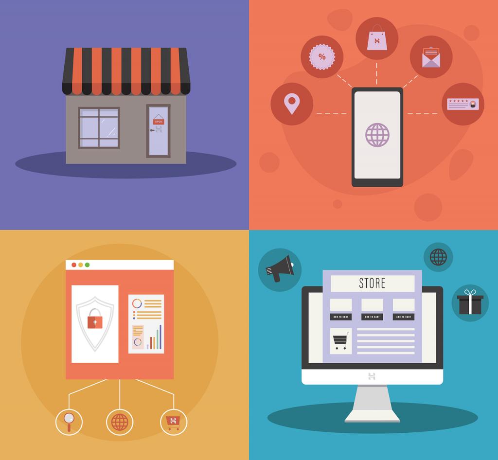 online store, store, e-commerce