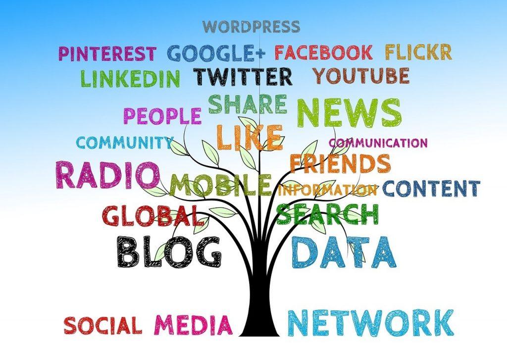 tree, social, media
